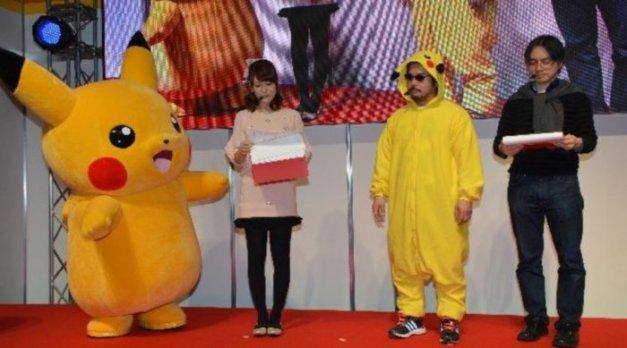 Katsuhiro Harada - Cosplay de Pikachu