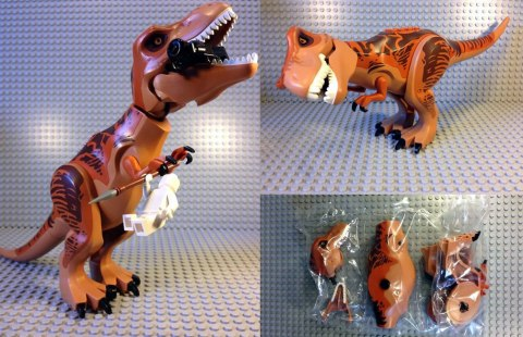 Lego Jurassic World Set - Tyrannosaurus  rex