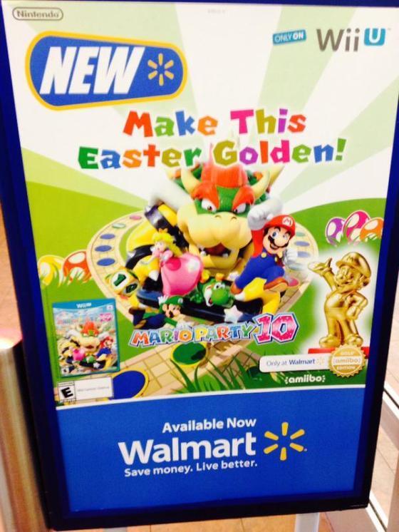 Mario amiibo dorado - Edicion especial Walmart