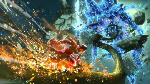 Naruto Shippuden Ultimate Ninja Storm 4 - Gameplay (Particulas)