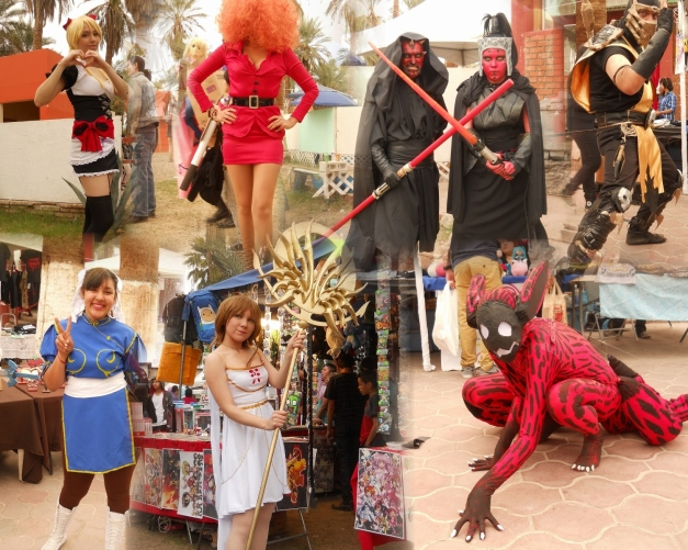 Ongaku Fest 2015 - Galeria de Cosplay (Collage)