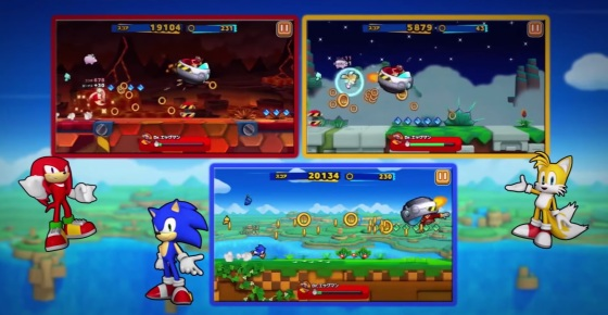 Sonic Runners - Screenshot