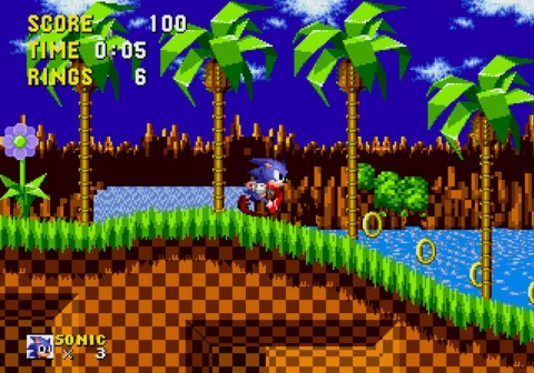 Sonic the Hedgehog - Gameplay