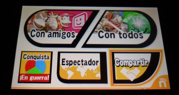 Super Smash Bros for 3DS - Update Compartir