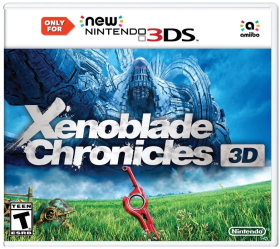 Xenoblade Chronicles 3D - Box art americano
