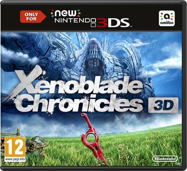 Xenoblade Chronicles 3D - Box art europea