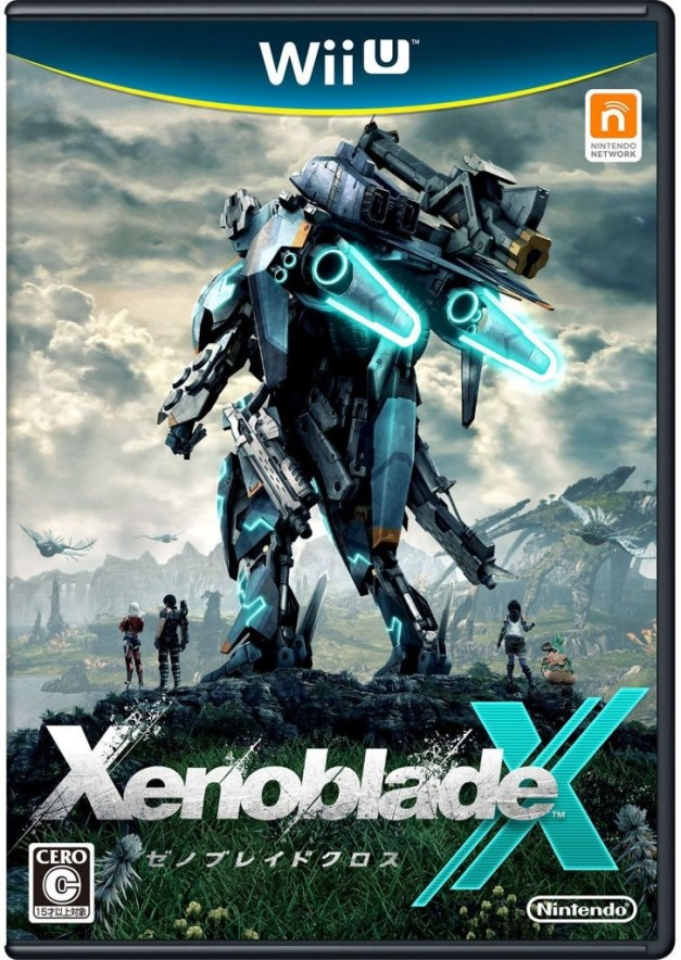 Xenoblade Chronicles X - Box art japonesa
