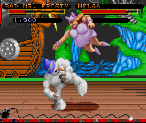 ClayFighter - Screenshot
