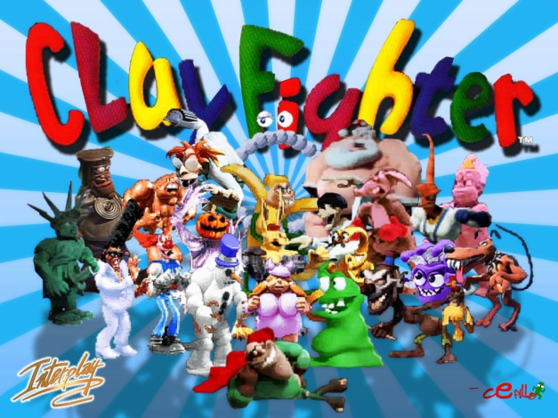 ClayFighter - Wallpaper
