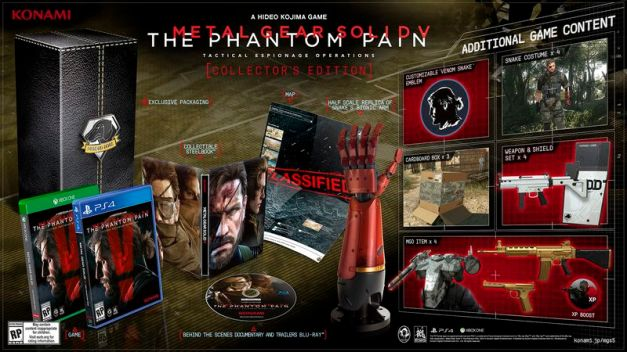 Metal Gear Solid V The Phantom Pain - Collectors Edition