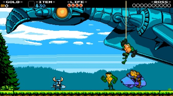 Shovel Knight (Xbox One) - Battletoads