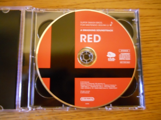 Super Smash Bros. for Nintendo 3DS&Wii U - Soundtrack (Disco rojo)