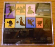Super Smash Bros. for Nintendo 3DS&Wii U - Soundtrack (Parte de atras)