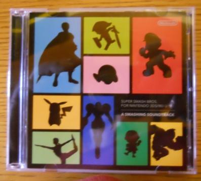 Super Smash Bros. for Nintendo 3DS&Wii U - Soundtrack (Parte de enfrente)