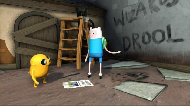 Adventure Time Finn and Jake Investigations - Screenshot (1)
