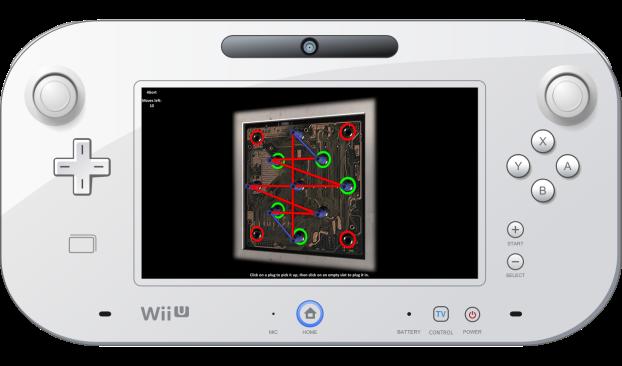 Bizerta Silent Evil - Protipo gameplay Wii U GamePad (3)