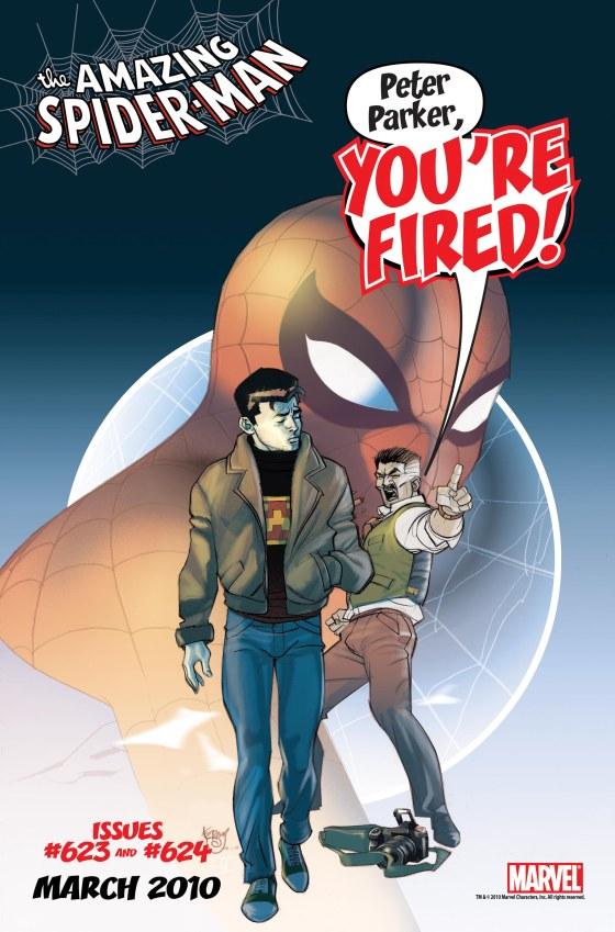 El Hombre Araña - Peter Parker despedido