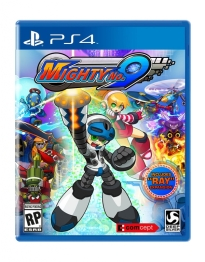 Mighty No 9 - PS4 Art box