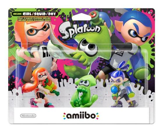 Splatoon - amiibo pack