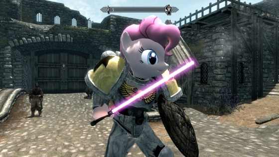 The Elder Scrolls V Skyrim - My Little Pony mod