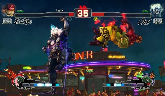 Ultra Street Fighter IV (PS4) - Screenshot