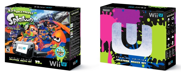 Wii U - Splatoon bundle