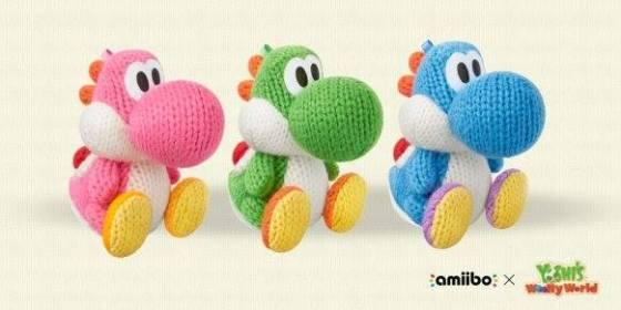 Yoshi's Woolly World - amiibos