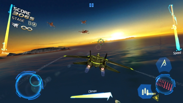 After Burner Climax - Gameplay (iOS)