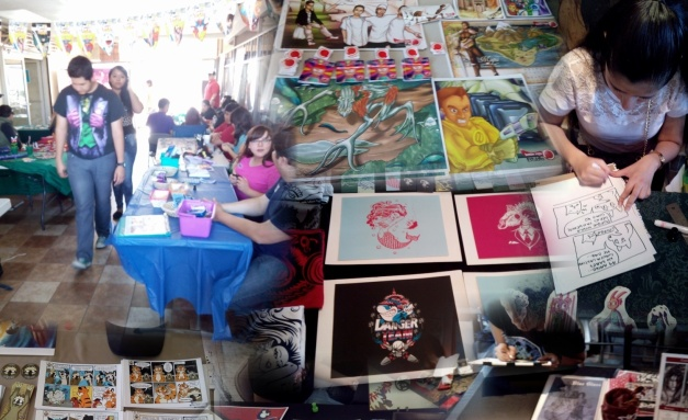 Comic Party Expo 2015 - Collage