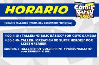 Comic Party Expo 2015 - Talleres