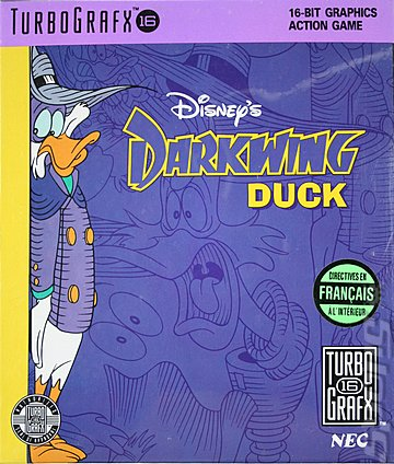 Darkwing Duck - TurboGrafx 16