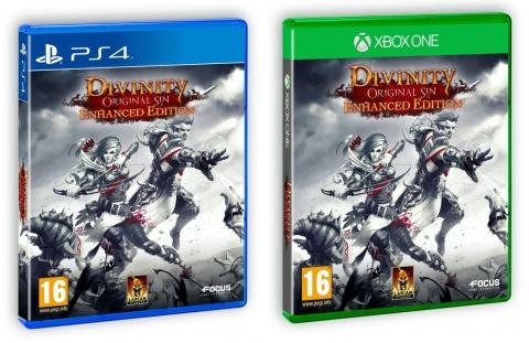 Divinity Original Sin Enhanced Edition - Box art (PS4 y Xbox One)