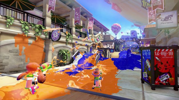 Splatoon - Screenshot