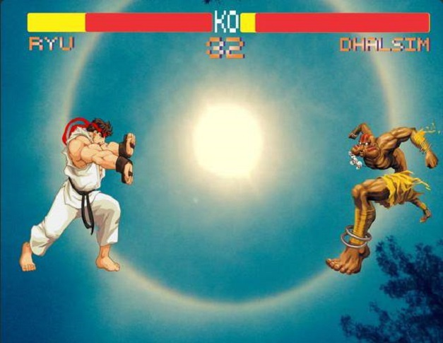 Street Fighter 2 - Halo Solar Mayo 2015