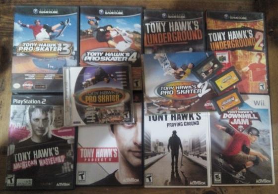 Tony Hawk - Coleccion de juegos Josué Caraveo