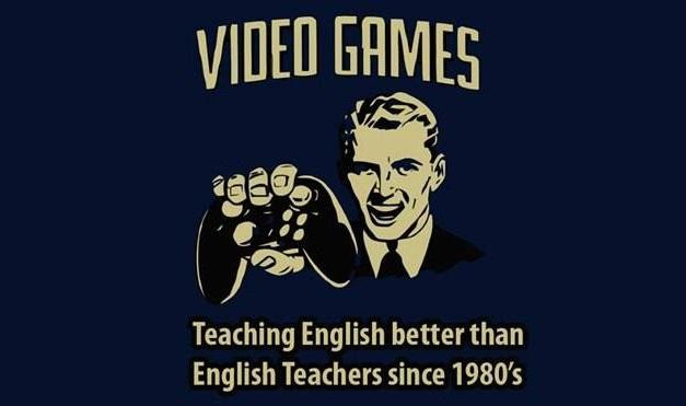 Videojuegos enseñando ingles