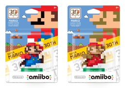 30th Anniversary Mario amiibos series