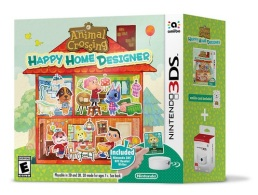Animal Crossing Happy Home Designer (3DS) - Bundle con adaptador NFC
