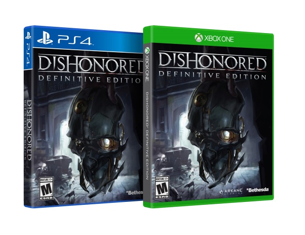 Dishonored Definitive Edition - Box art (PS4 & Xbox One)