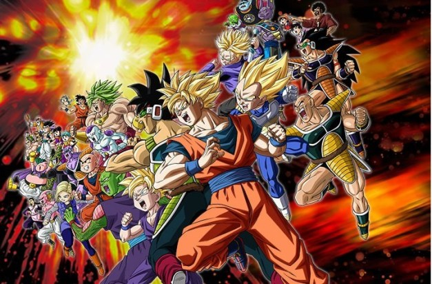 Dragon Ball Z - Collage