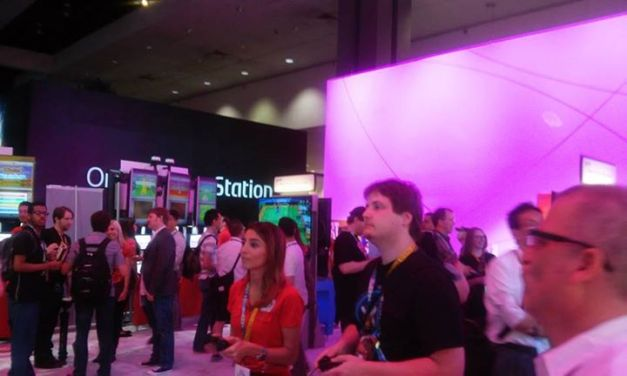 E3 2015 - Los Angeles  Convention Center (Sony booth)