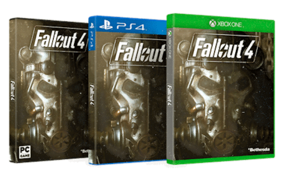 Fallout 4 - Box art (PC, PS4, Xbox One)