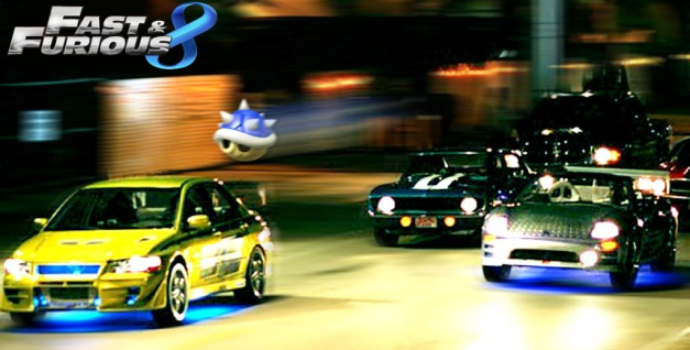 Mario Kart 8 X Rapido y Furioso