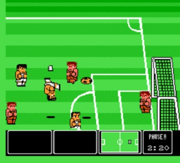 Nintendo World Cup (NES) - Screenshot