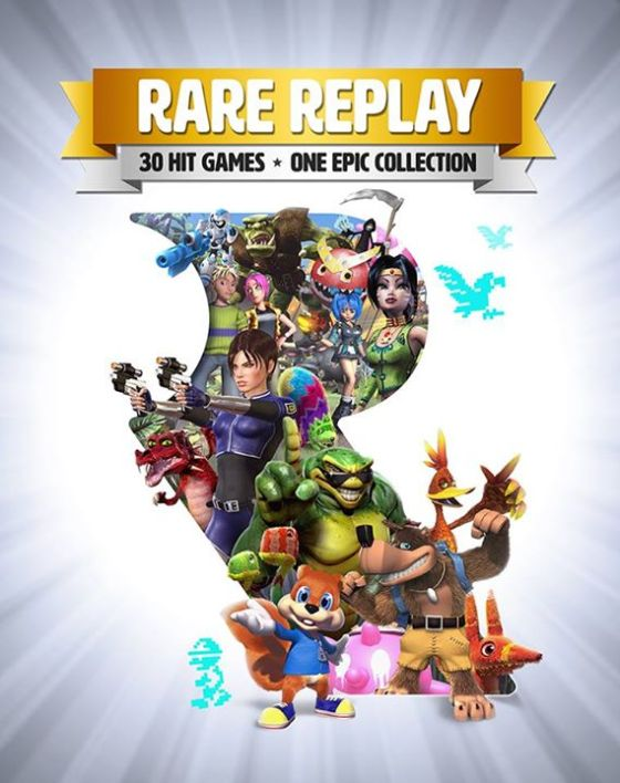 Rare Replay - Art box
