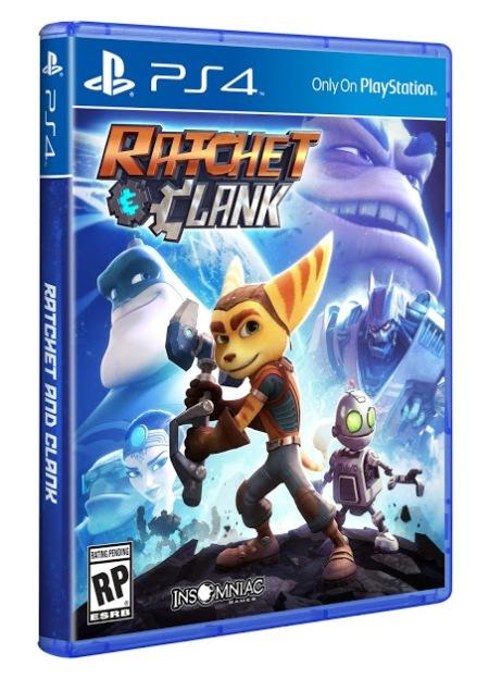 Ratchet & Clank (PS4) - Box art
