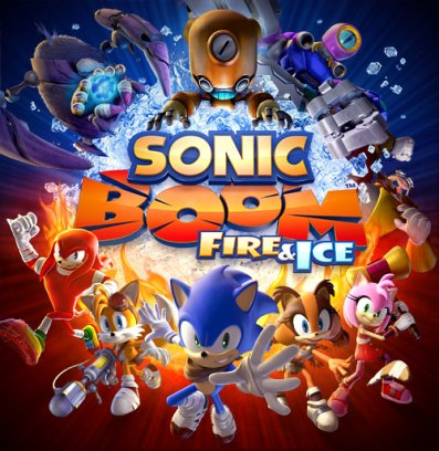 Sonic Boom Fire & Ice - Logo