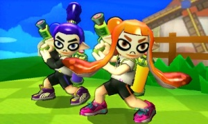 Super Smash Bros. for 3DS - Splatoon skin DLC (1)