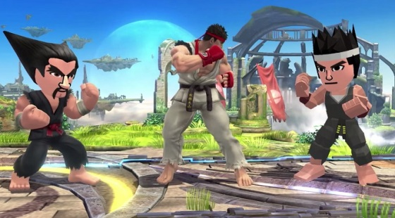 Super Smash Bros. for Wii U & 3DS - DLC (Heihachi, Ryu y Akira)