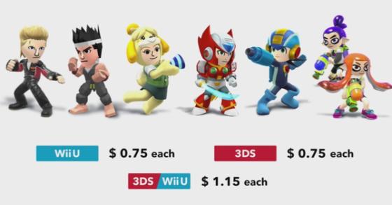 Super Smash Bros. for Wii U & 3DS - DLC (Precio trajes extras)